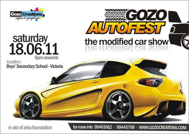 The eighth annual GozoAutofest in aid of Arka Foundation