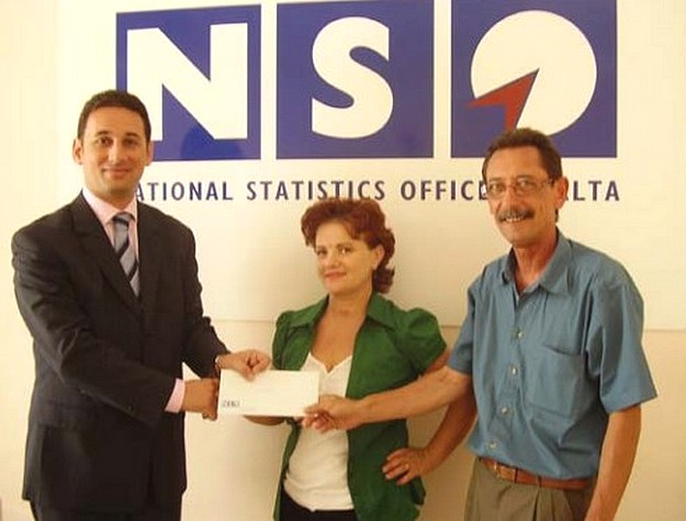 Gozo couple win Air Malta tickets in NSO survey lottery