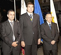 Anton Farrugia & Alvin Scicluna were both conferred the Gieh il-Belt Victoria