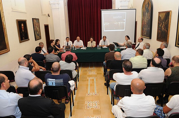 Meeting held on the plans to restructure Marsalforn