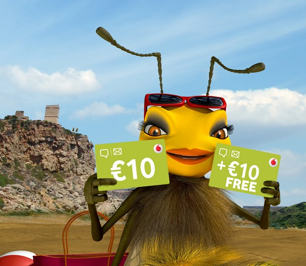 Vodafone's summer offer with Double Your Top Up