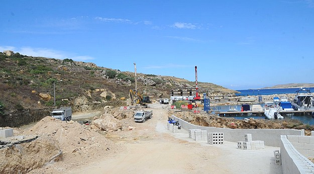 Restructuring works underway on the Zewwieqa Waterfront