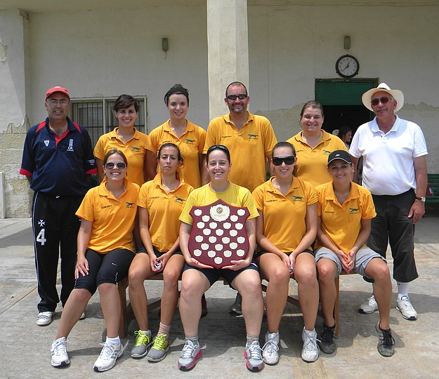 Alligators ladies cricket team win the Summer League title