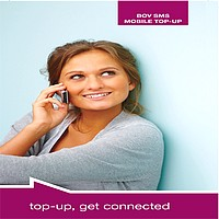Win a mobile phone & internet key with BOV mobile top-up