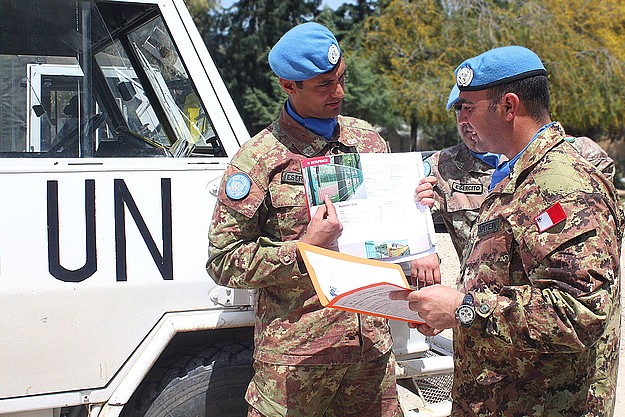 Captain Joseph Spiteri of Ghasri on UNIFIL deployment