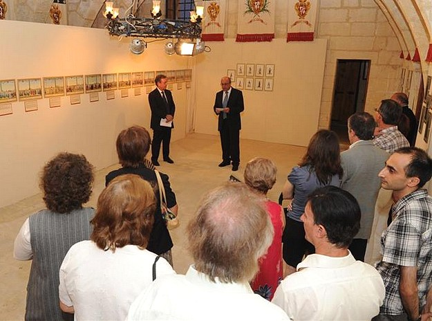 Salvatore Busuttil art exhibition inaugurated in Victoria