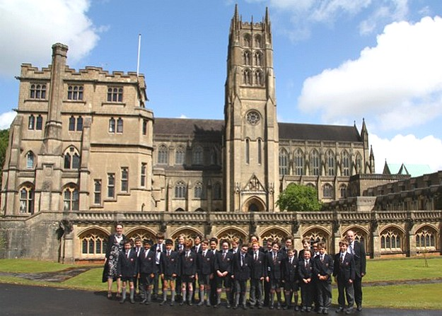 UK's Eltham College Choir in JP2 Foundation Concerts