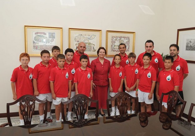 Nadur under 11's Youngsters participate in Gothia Cup 2011