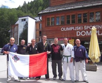The Gozo Karate Club represents Malta in Slovenia