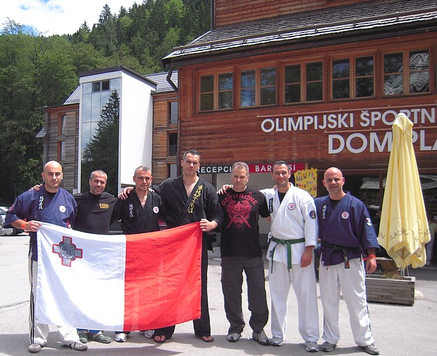 The Gozo Karate Club represents Malta in Slovenia