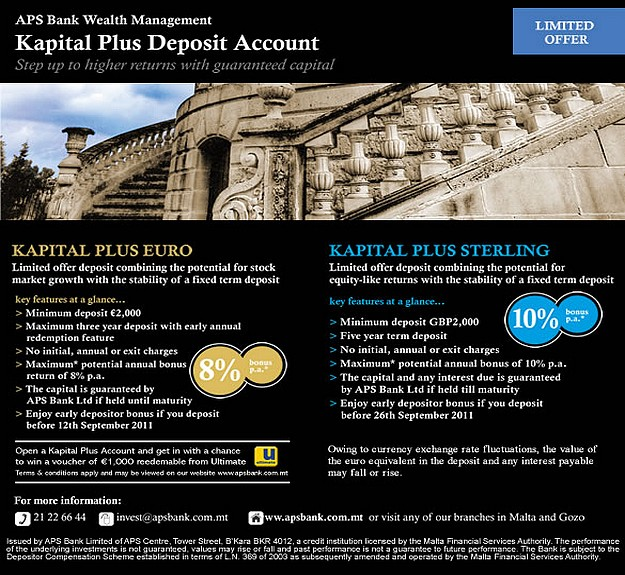 APS Bank launches 2nd edition of Kapital Plus accounts