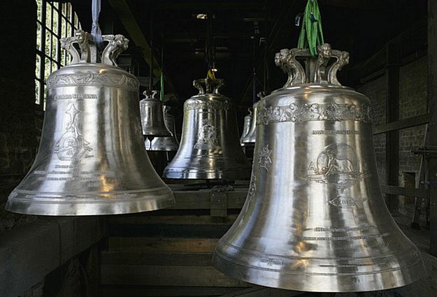 Ghajnsielem Parish Church receives its new set of bells