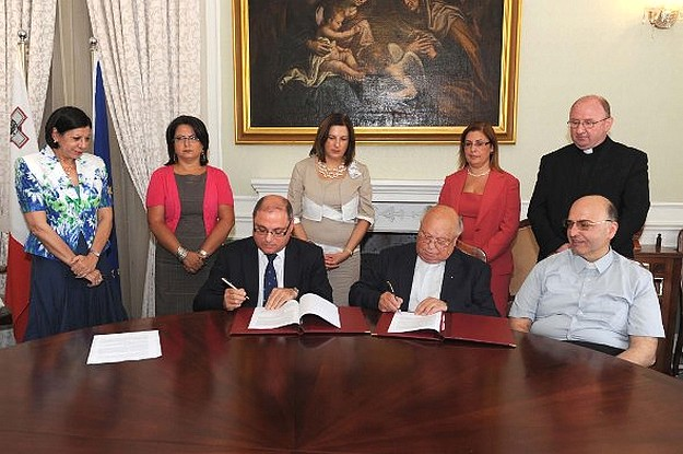 New agreement between the government & church schools