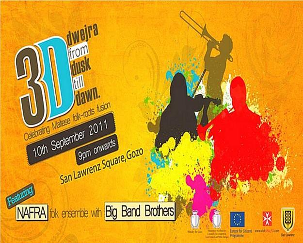 Spectacular '3D' event at San Lawrenz village next month