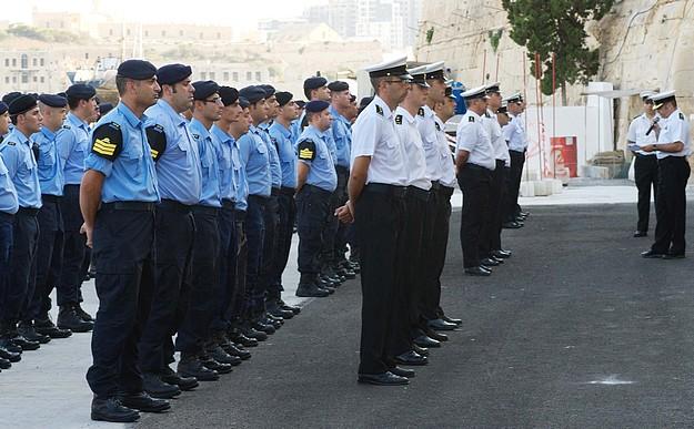 AFM Maritime Squadron celebrate the unit's Patron Saint