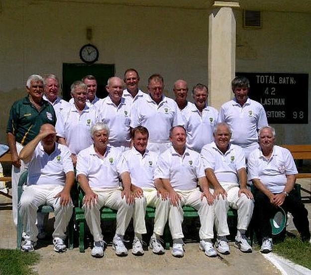Australian over 60's cricket team visit Malta on their tour