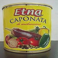 Etna Caponata canned vegetables withdrawn from sale
