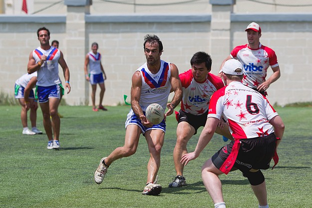 All-Stars win the Malta International Tag Rugby Festival