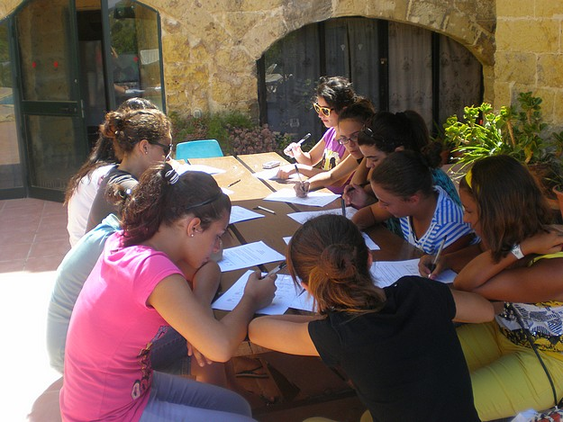 HSBC assists OASI with its life skills summer camp 2011