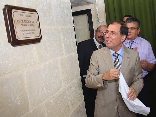 The President of Malta pays a visit to Radju Katidral Gozo