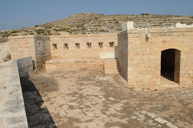 Qala's St Anthony's Battery restoration almost complete