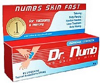 Warning given buying 'Dr Numb' product over the internet