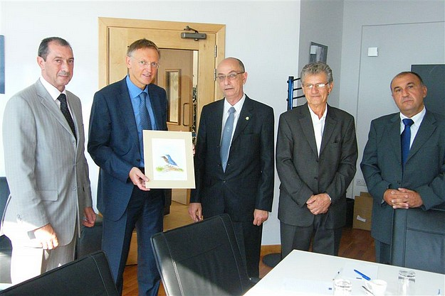 EU Commissioner Potocnik meets delegation from the  FKNK