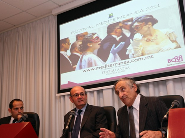 BOV and Teatru Astra launch Festival Mediterranea 2011