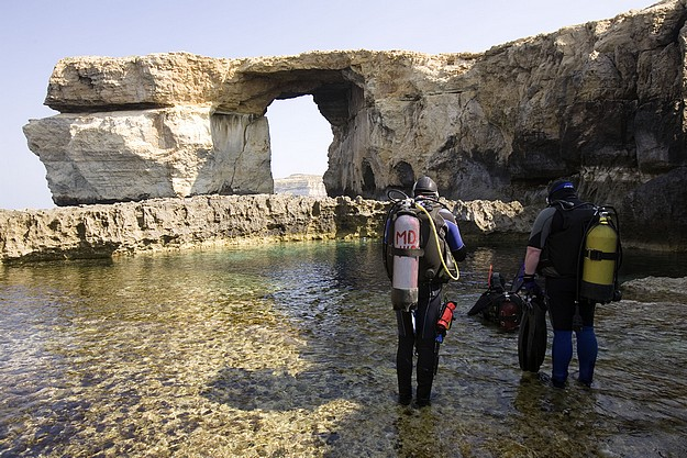99.3% of divers surveyed would recommend Gozo to others