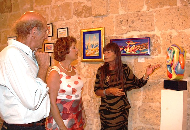 Gozo Art Exhibition by Lucia Sconfienza & Sergio Aimasso