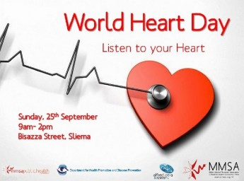 MMSA celebrates World Heart Day with free health tests