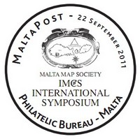 MaltaPost issues special hand postmark -  Malta Map Society