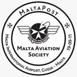 MaltaPost issues Hand Postmark -  Malta Aviation Society