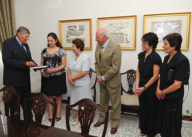 Sir Arturo Mercieca Award presented to Gozitan law student