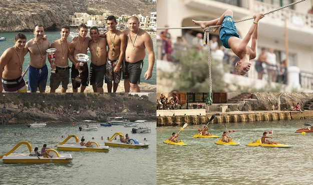 'Waterfun Park' this Sunday in Xlendi Bay, entertainment and sport for all