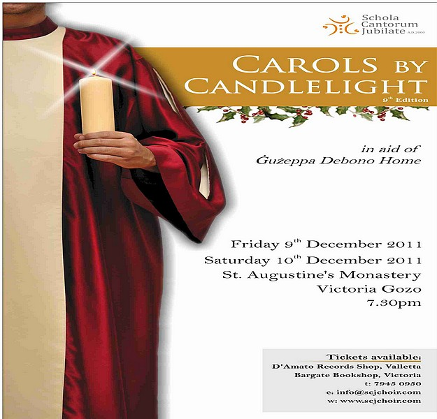 Annual Carols by Candlelight at St. Augustine's Monastery
