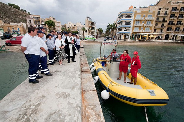 Official inauguration of E.R.R.C. Rescue RIB Lifesaver