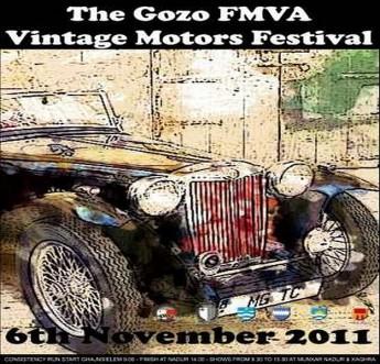 The Gozo - FMVA Vintage Motors Festival 2011 this Sunday