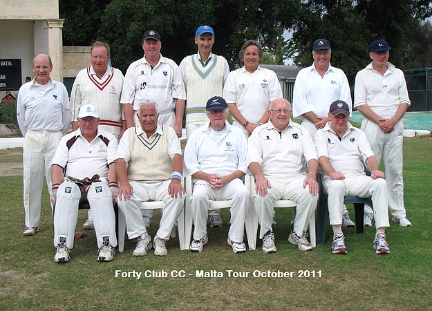 Marsa C.C. win all three games against The Forty Club C.C