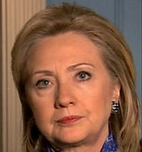 US Secretary of State Hilary Clinton on official visit to Malta