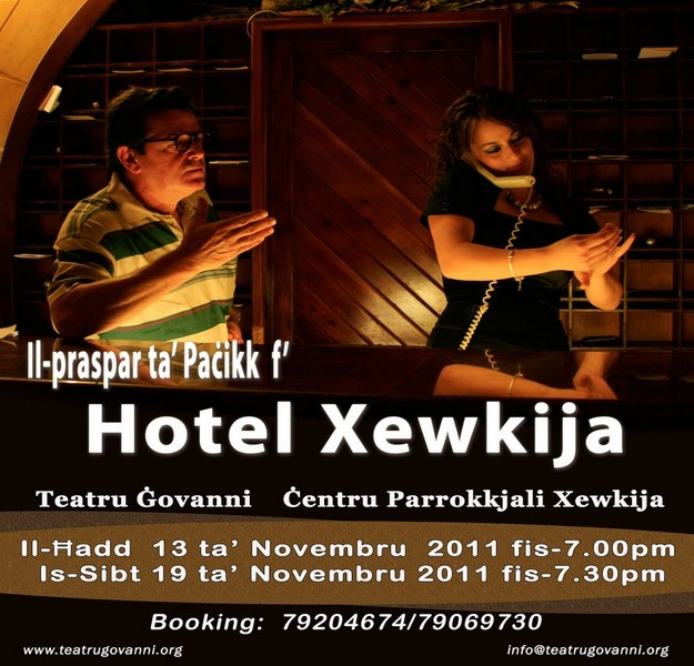 Xewkija's Ghaqda Drammatika presents its latest production