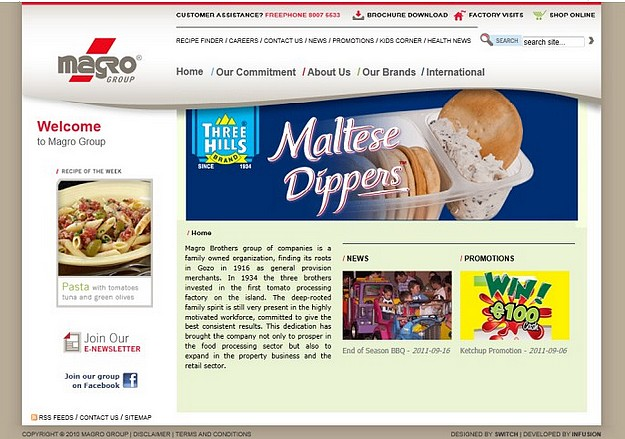 Magro Brothers of Gozo launches new interactive website