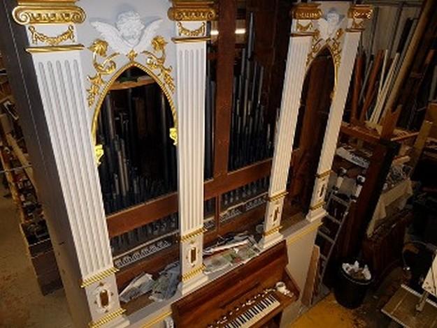 San Lawrenz church organ restoration work completed