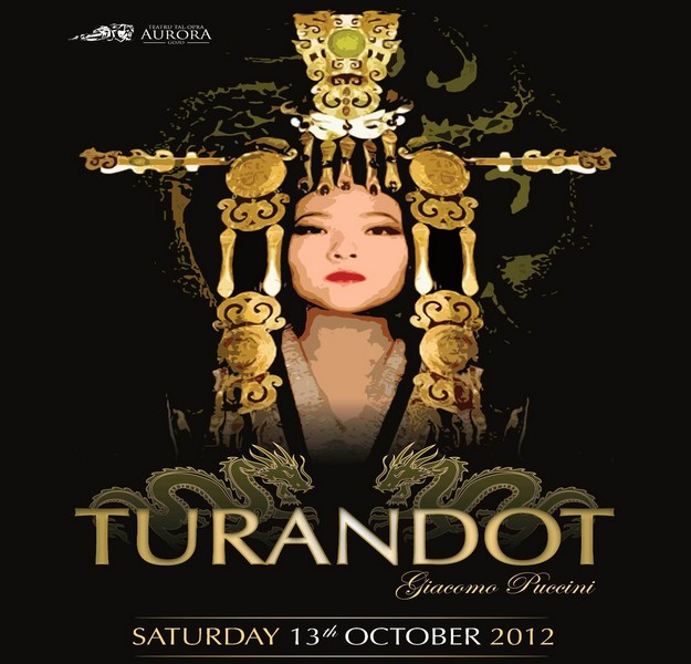 The Aurora Theatre is to perfom Turandot for 2012 season
