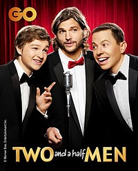 Two and a Half Men being shown exclusively on GO stars