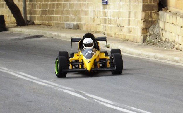 Alan Curmi has fastest time of the day in Xaghra hillclimb