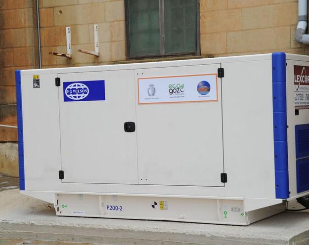New generator & energy saving lighting for Arka Foundation
