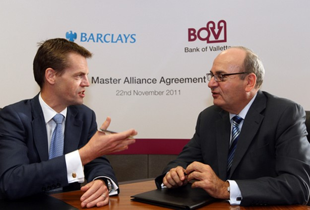 BOV announces new strategic alliance with Barclays Wealth