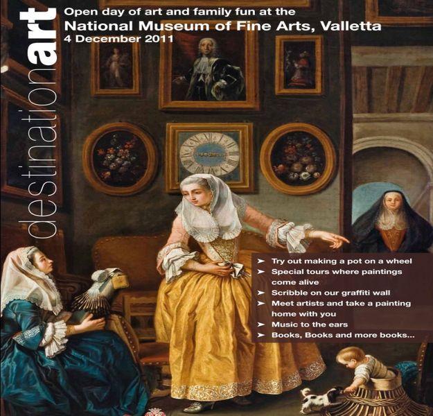 Destination Art 2011 with Heritage Malta this weekend