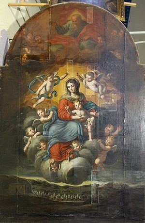 BOV supports restoration of 'The Virgin of Divine Grace'